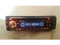 CAR HEAD UNIT SENDAI CD MP3 PLAYER WITH AUX AND RCA PRE OUT 4 x 45 WATT STEREO AMPLIFIER AMP