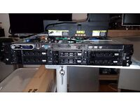 Dell PowerEdge 2950 III - 16Gb RAM - 6 x 146Gb 15k SAS - 2x Intel Quad-Core Xeon 2.33 (4 Available)