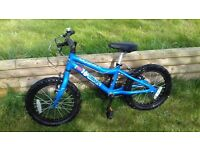 Great boys ridgeback blue bike