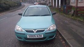 Vauxhall corsa for sale great wee runner