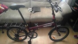 B'twin Hoptown Folding fold up Bike bicycle