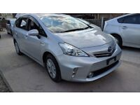 PCO Uber Taxi Car Hire Rental, Competitive Rates, Toyota Hybrid Prius + 2013 for only £150 a week