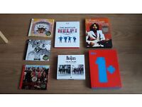 Job lot of limited edition Beatles Cd's and Dvd's