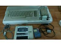 Commodore C64 + Datassette Unit with Game