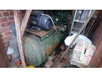 Large belt driven compressor