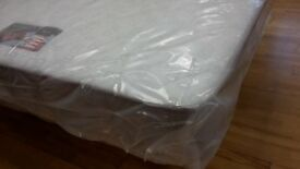 New, bagged 4ft6 Double spring interior mattress. Unused matress
