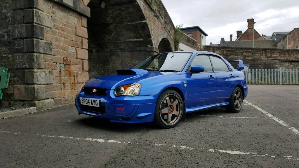 Subaru impreza wrx sti UK prodrive edition