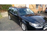 Saab 95 diesel estate 2008 1 former owner, fabulous car..Bargain! £1450