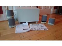 ALTEC LANSING ADA880 AMPLIFIED COMPUTER SPEAKER SYSTEM WITH REMOTE CONTROL