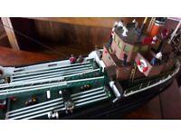 Old model boat(remote)