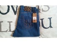 LOUIS VUITTON JEANS SIZE 36w BRAND NEW