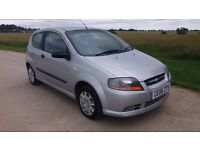 Chevrolet Kalos 1.2 S 3dr, LONG MOT/ HISTORY, LOW MILES ,VERY GOOD CONDITION, NEW BRAKES &DISCS