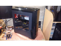 Liquid Cooled Gaming PC I5-6400 oc 4.5GHz 16gb Gtx 980 Fastest 256GB Polaris SSD 2tb Windows 10 Pro