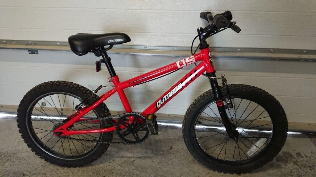 f76b09f5dd9b kids bike - Outrage apollo (red) 18
