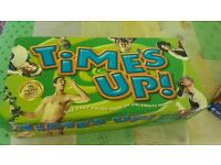 Time's Up board game - guessing celebrities in the fastest time. 12+ year olds, 4+ players/teams