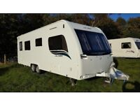 2014 Lunar Ultima (Lexon) 640 - Luxury Touring Caravan, 2 Years + Transferrable Warrantee