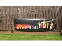 large movie vinyl banner