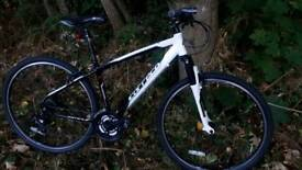 MENS CARRERA CROSSFIRE 1 HYBRID, SIZE MEDIUM, V.G.C USED ON A COUPLE OF OCCASIONS, £100