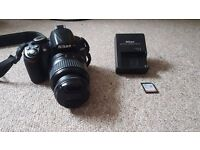 NIKON D3100 GREAT CONDITION! Only £95 including a 8GB SD card
