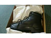Mens steel toe cap boots size 11 brand new