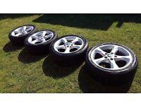 "BMW Genuine 1 series 17"" Sport Alloys with tyres"