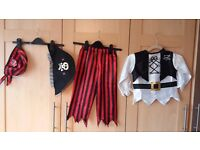 £5 each Knight (2 piece), Gladiator (3 piece) or Pirate(4 piece) costumes all in good condition