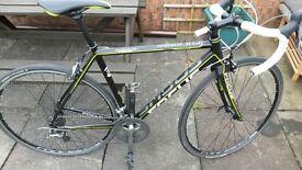 Road bike. Focus Culebro. tiagra groupset (2 x 10) Alloy frame, carbon fork. 9kg. 54cm.