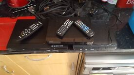 3 dvd players all working in good condition