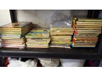 Selection of Comic Annuals ranging from the 1950's to 1980's.