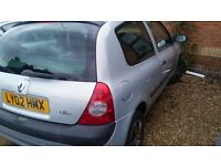 Renault Clio for sale only £325