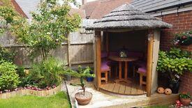 Luxury Thatched Oasis Breeze House Gazebo