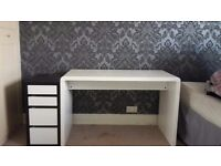 Dressing table and matching storage unit