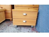 Small two Drawer Multipurpose unit
