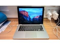Macbook Mac Pro 13 inch 2009 - 2010 laptop 6gb ram Intel 2.53ghz processor fully working