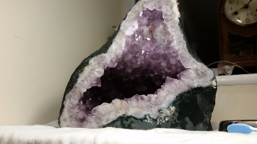 Stunning, giant Amethyst Crystal Geode Cathedral