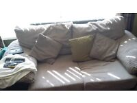 free to collect 2 sofa's year old excellent condition