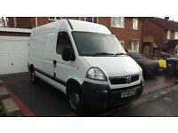 For sale! Vauxhall Movano 2.5 CDTI 2006 MWB, Mot 18/July/2018, one previous owner