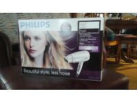 New unwanted xmas gift philips hand held hair dryer