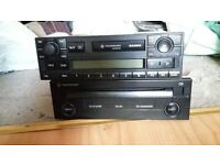 vw stereo... radio casseste and cd player