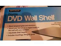 DVD wall shelve
