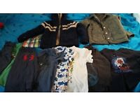 Ralph Lauren l/s top and beneton spring jacket for boys 5-6 yr old plus other great clothes