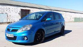 Arden blue 7 seater VXR Zafira 240+BHP