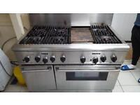Comercial cooker gas and electric