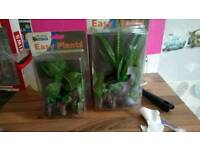 Artifical plants for fish tank