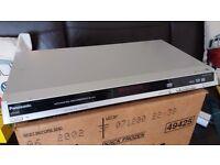 Panasonic DVD-S29 DVD Player CD/DVD-RAM Video WMA/MP3/JPEG UK Region 2 NO REMOTE OR INSTRUCTIONS!!!!