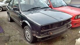 BMW E30 COUPE ROLLING SHELL COMPLETE