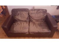 FREE 2 SEATER SOFA NEEDS TO GO ASAP
