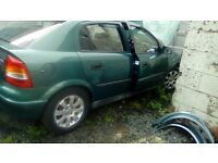 Breaking 2001 astra alloys good engine