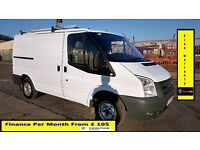 Ford Transit Van 2.2 300 -1 Owner EX B. Gas, 59K Miles , FSH 7 Stamps ,1YR MOT,Warranty,ELEC WINDOWS