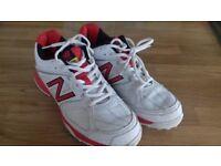 Size 8 New Balance cricket shoes
